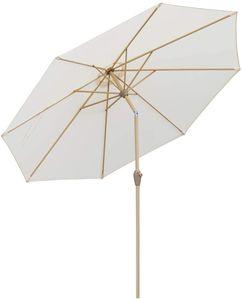 Sonnenschirme 300 cm | Sonnenschirm balkon | garten-sonnenschutz , UV50 +, Druckknopf-Kippen&Aluminiumteile,cream