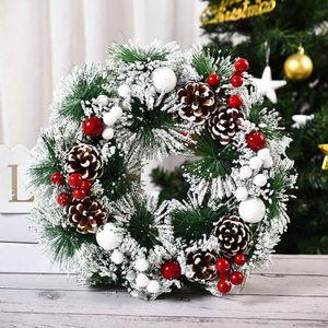 32cm Kranz Girlande Deko Weihnachtskranz Weihnachts Türkranz Weihnachten Türkranz