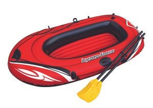 """Bestway """"Hydro-Force Raft Set"""" Boot 188 x 98 cm mit Blasebalg und 2 Paddeln, 61062"""