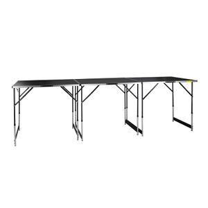 Klapptisch Tapeziertisch Allzwecktisch Arbeitstisch Tisch Tapete Set 3 Tische
