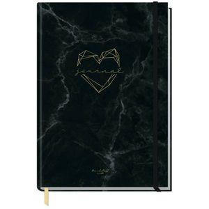 Häfft Trendstuff Journal Classic Marble Heart / A5 / gepunktet