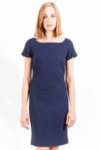 GANT - Kurzes Kleid Damen, Farbe: Blau, Größe: 42
