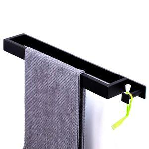 Edelstahl  Handtuchringe ohne bohren Verchromt Handtuchstange Handtuchhalter Badetuch Ring Halterung für Badzimmer und Küche,Selbstklebend