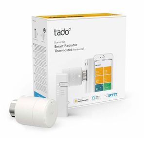 tado° Smartes Heizkörperthermostat - Starter Kit V3+, Apple Homekit, Alexa, Google Assistant kompatibel, Smart Home