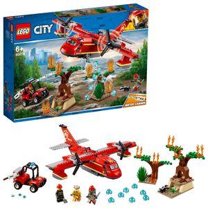 LEGO® City Löschflugzeug der Feuerwehr, 60217