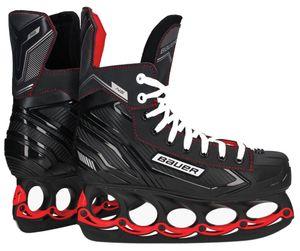 Bauer tblade NS Eishockey Schlittschuhe mit t-blade System Black Edition : 38,5 Halbe Größen: 38,5