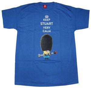 T-Shirt Minions - Keep Stuart very Calm, Größe:XXL