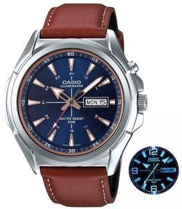 Casio Illuminator MTP-E200L-2 quarzwerk Herren-Armbanduhr