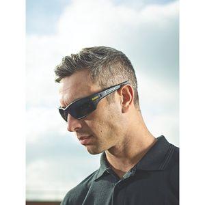 Dewalt Auger Sicherheits  Brille FS4477 (Einheitsgröße) (Rauch)