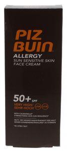 Piz Buin Allergie Gesichtscreme Sonnenschutz LSF 50+ Format 50 ml