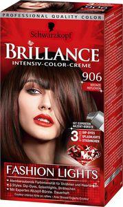 Schwarzkopf Brillance Haarfarbe 906 Bronze Reflexion