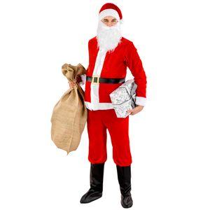 dressforfun Herrenkostüm Weihnachtsmann - XXL