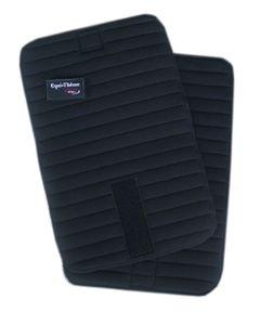 Bandagierunterlagen FIR Equitheme 2er SET schwarz, Größe Warmblut Bandagierkissen