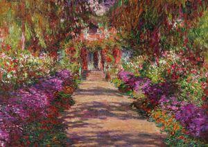 Monet, Weg in Monets Garten in Giverny