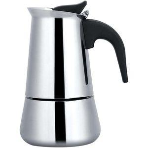 ALmi Teekanne Aufsatz, Moka Espressokocher, Premium-Edelstahl Rostbest?ndig Langlebiger Durchdacht Premium Qualit?t Fš¹r Induktionskocher Camping