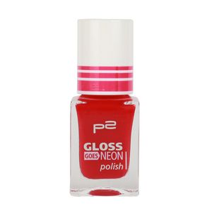P2 Nägel Nagellack Nagellack Gloss Goes Neon Polish 833850, Farbe: 050 loop-di-loop, 10 ml
