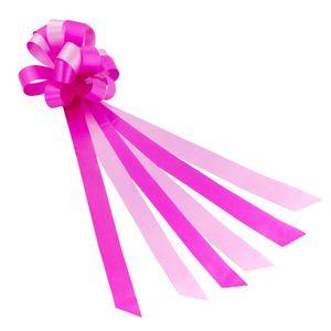 Oblique Unique Geschenkschleife mit Geschenkband Groß Deko Schleifen - rosa pink