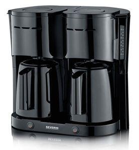 SEVERIN Duo-Filterkaffeemaschine KA 5830 weiß