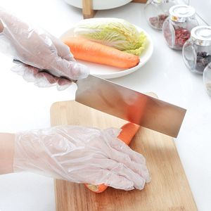 300 x Einweghandschuhe aus Kunststoff aus Polyethylen groß - Reinigung Lebensmittel zubereiten usw.