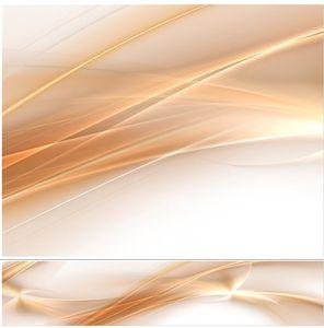Küchenrückwand Abstrakt beige Spritzschutz 60x300 cm feuchtigkeitsresistent Wandpaneel AB18
