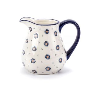 Milchkrug Milchkanne Wasserkanne KANNE Krug Keramik FOLKLOR 1 L