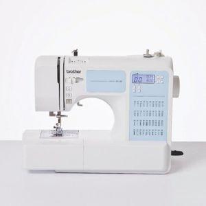 BROTHER Elektronische Nähmaschine - FS40 - 40 Punkte - 7 Krallen - Weiß