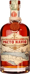 Pacto Navio created by Havana Club Kuba selectively finished in French Sauterne Casks | 40 % vol | 0,7 l