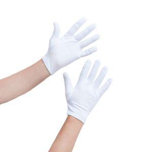Oblique Unique Damen Handschuhe Pantomime Butler Kostüm - weiß