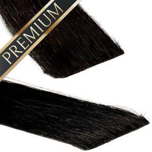 Invisible Tape In Extensions - Premium, Farbe:#1b, Länge:50cm