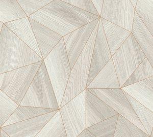 Livingwalls Vliestapete Daniel Hechter 5 Tapete grau metallic 10,05 m x 0,53 m 361332 36133-2