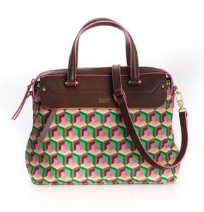 Oilily Geo Diamonds Handbag S Jolly Green