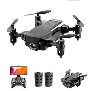 KK8 Mini Drone RC Quadcopter 15 Minuten Flug 360-Grad-Flip 6-Achsen-Gyro-Höhenhalterung Headless-Fernbedienung für Kinder oder Erwachsene Training 2 Batterie