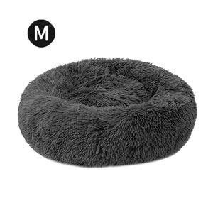 Katzenbett Hundebett Baumwolle und Samt,Dunkelgrau 50 *20 cm