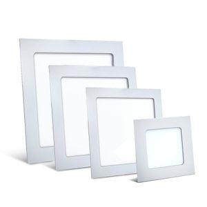 6W LED Panel Einbaustrahler 120x120mm Spot Einbauleuchte Warmweiß 350 Lumen Deckenleuchte Eckig