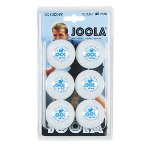 Joola Tischtennisbälle Rossi Champ 6er Weiß - 44300