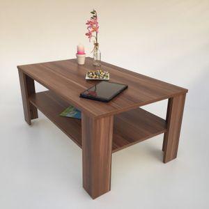 Möbel SD Couchtisch Bea Nussbaum Optik 100 x 57 x 43,5 cm