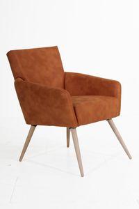 Max Winzer Jörn Sessel - Farbe: cognac - Maße: 65 cm x 73 cm x 84 cm; 29841-1100-2078136-F01