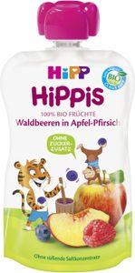 Hipp Hippis Waldbeeren in Apfel-Pirsich (100 g)