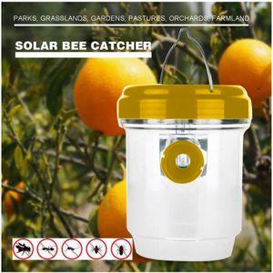 Wespenfalle Solar LED Bienenfalle Insektenfalle Drosophila Trap Solarladung ZJZ210510029YE