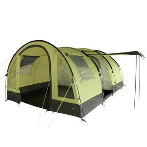 10T Devonport 5 - 5-Personen Tunnel-Zelt mit Panoramafenster Vorraum + teilbare Innenkabine, 3000mm