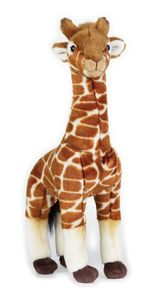 National Geographic kuscheltier Giraffe junior 35 cm Plüsch braun