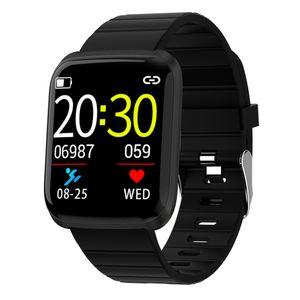 1,3 Zoll Bildschirm Smart Watch Blutdruck Wasserdicht Fitness Tracker Schwarz Smartwatch Großer Bildschirm Blau Schwarz Silber Rot 16 kb + 512 kb