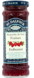 St. Dalfour Fruchtaufstrich Erdbeere Brotaufstrich Konfitüre 280g