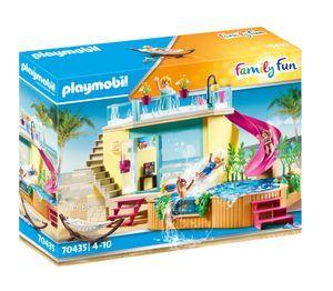 PLAYMOBIL Family Fun 70435 Bungalow mit Pool