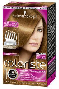 Schwarzkopf Coloriste F 860 Leuchtendes Bernsteinblond Hochglanz-Haarfarbe