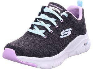 SKECHERS ARCH FIT - COMFY WAVE Damen Sneaker schwarz 149414W BKLV : 38
