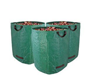 Gartenabfallsack Stabil Gartensack 272 Liter 3 Stück