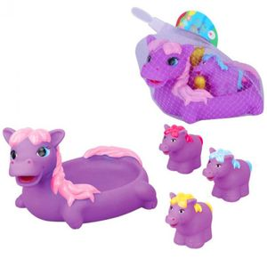 Hippo Badespielzeug 4er Set für die Badewanne