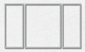 Noris Spiele Malen nach Zahlen - Alurahmen Tripty. Silber 50x80 cm; 605260767