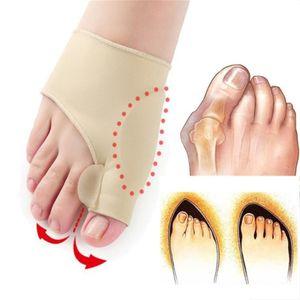 2 große Zehenschienen zur Schmerzlinderung im Hallux Valgus Big Toe Orthese Fußpflege-Tool